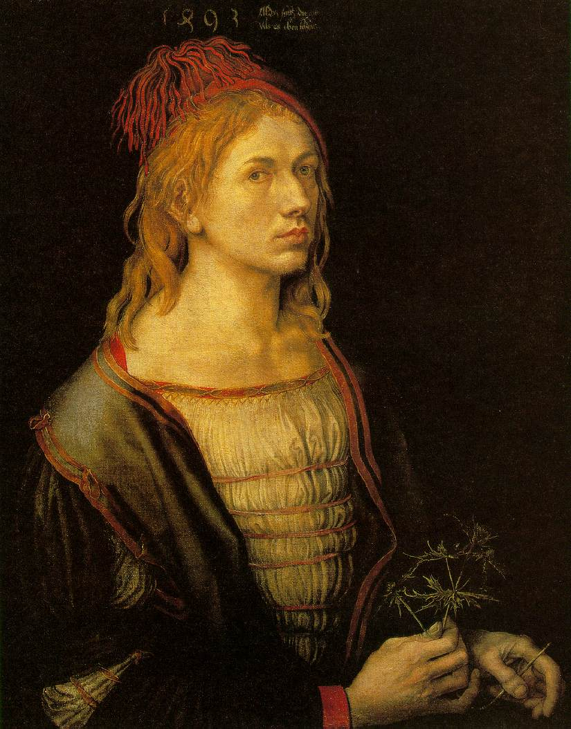Self-portrait at Age 22, Albrecht Dürer, 1493