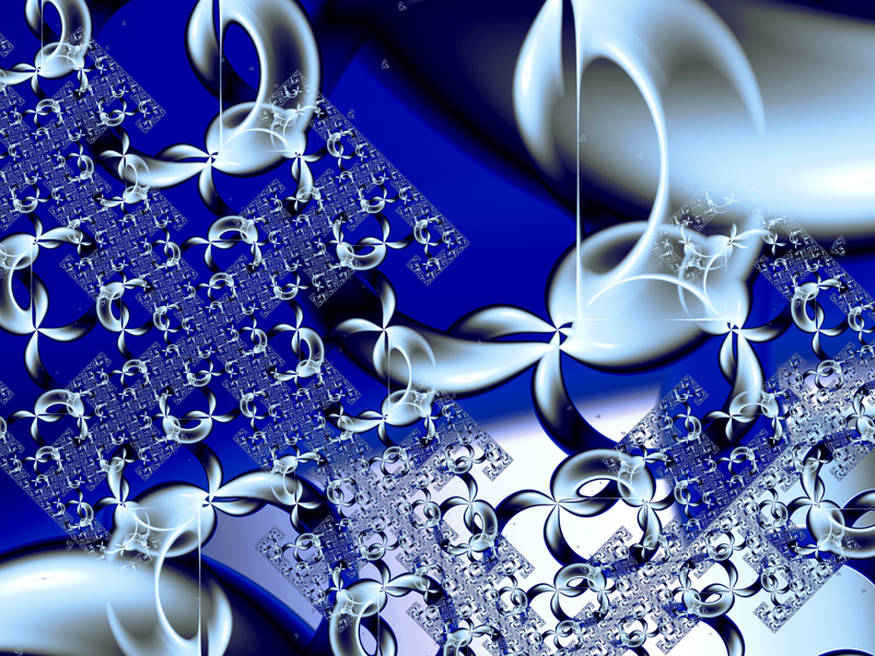 Fractal Art Wallpaper, 3D Sierpinski