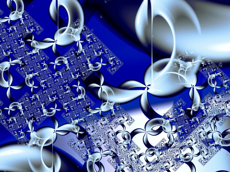 Fractal Art Wallpaper, 3D Sierpinski