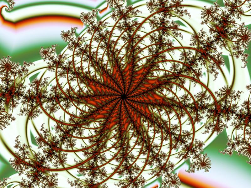 Fractal Art Wallpaper, Autumn Soon