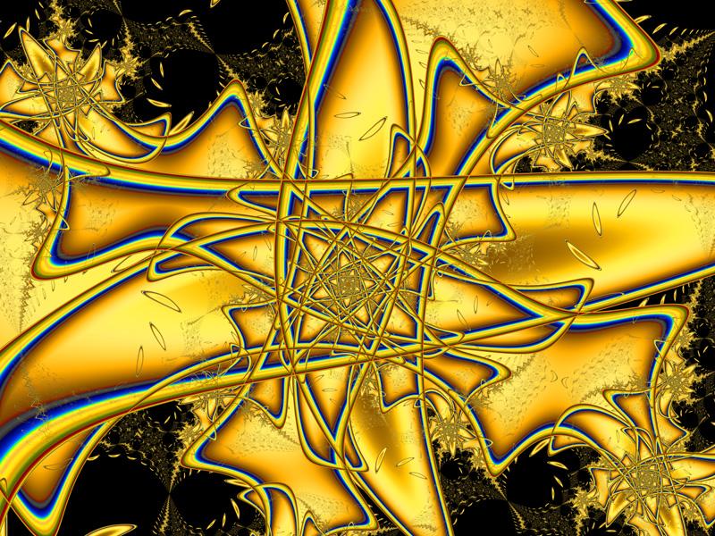 Fractal Art Wallpaper, Chaos Theory 3