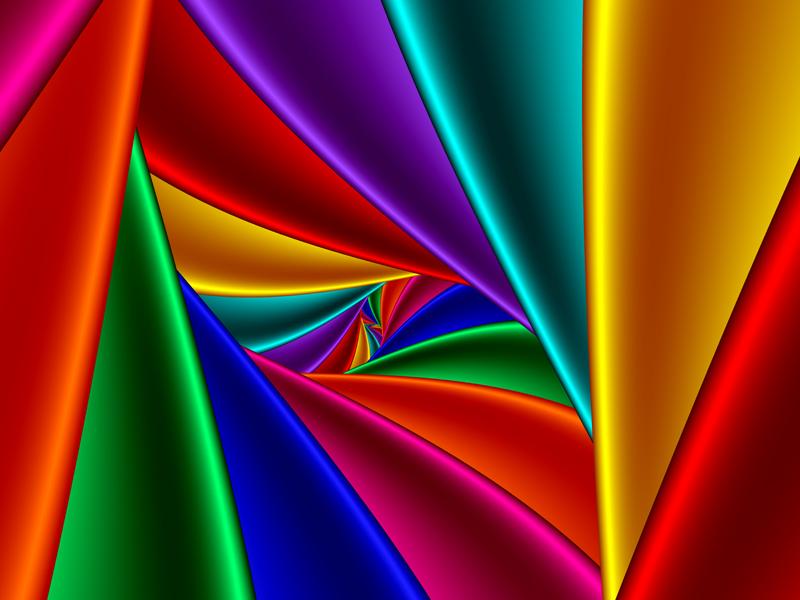 Fractal Art Wallpaper, Color 25