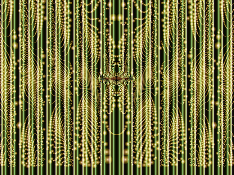Fractal Art Wallpaper, Curtain 3