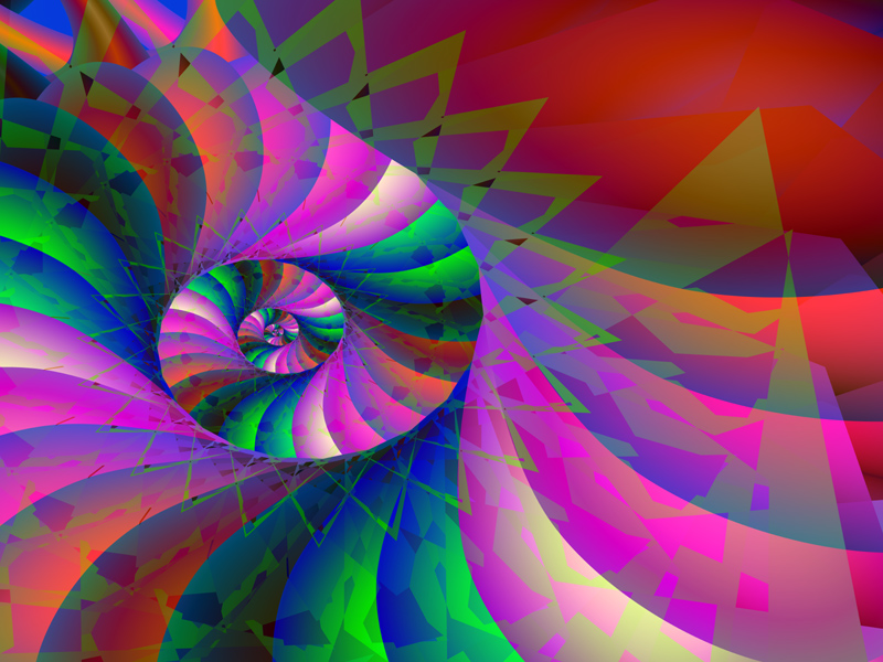 Fractal Art Wallpaper, Diamond Traps 2