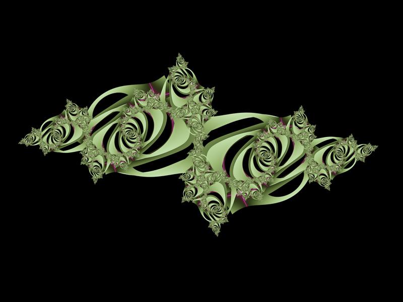 Fractal Art Wallpaper, Emblem 3
