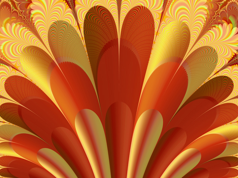 Fractal Art Wallpaper, Exultate 2