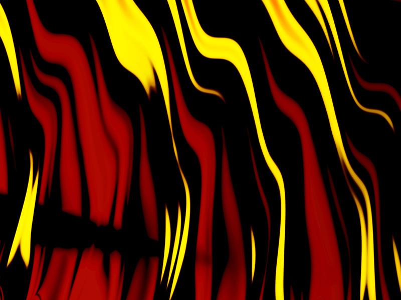 Fractal Art Wallpaper, Fire 6