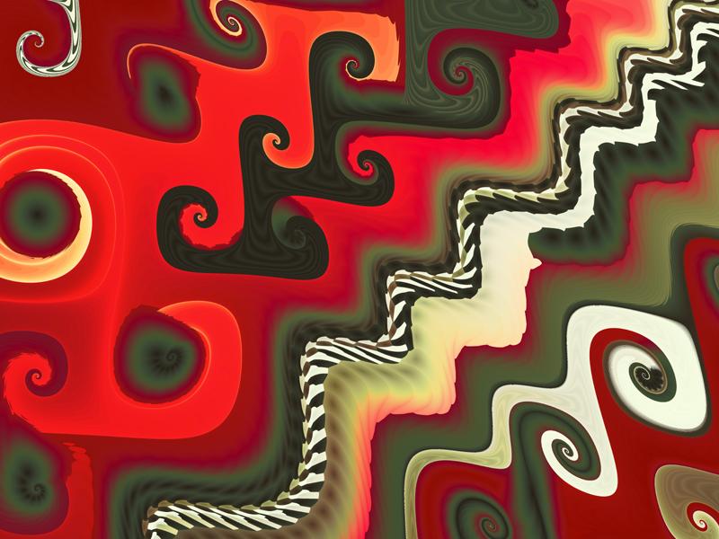 Fractal Art Wallpaper, Furniture