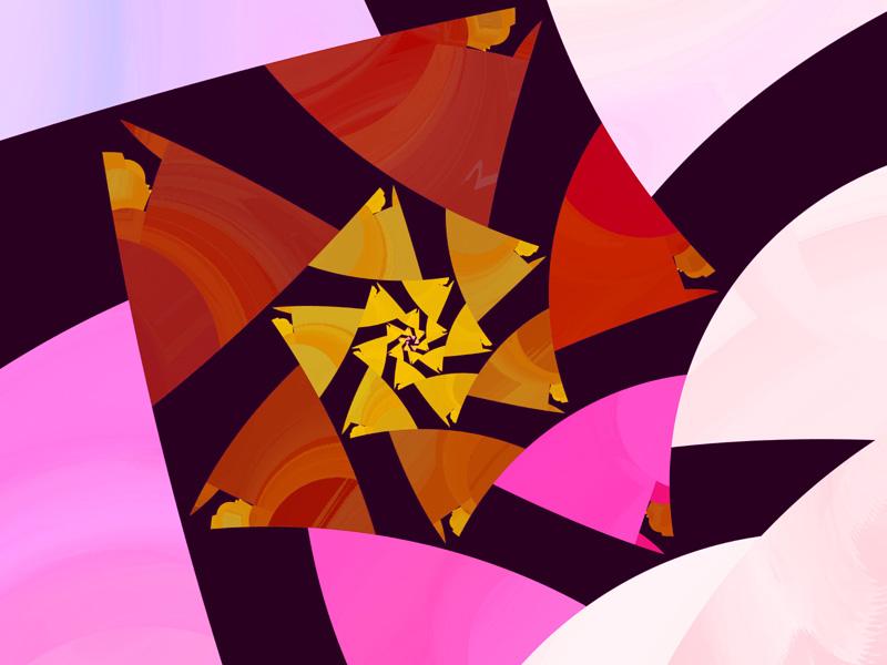 Fractal Art Wallpaper, Imperfect 2