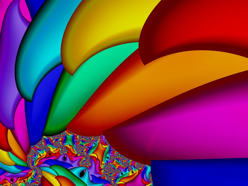 Fractal Art Wallpaper, More Colors