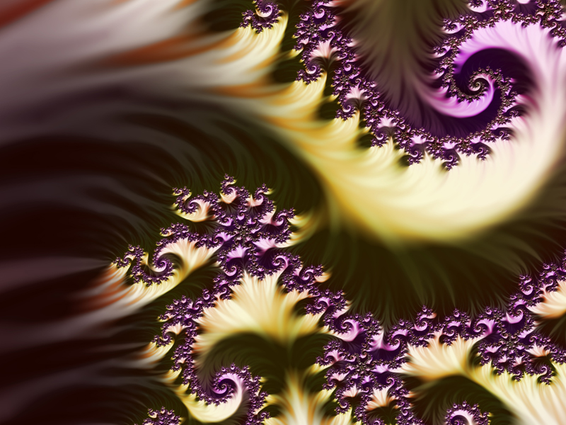 Fractal Art Wallpaper, More Light