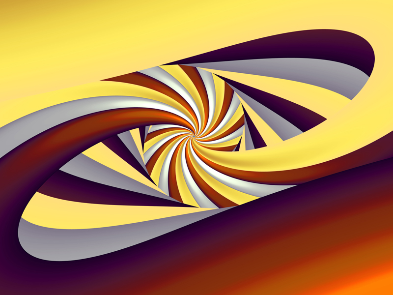 Fractal Art Wallpaper, Parabola Curve