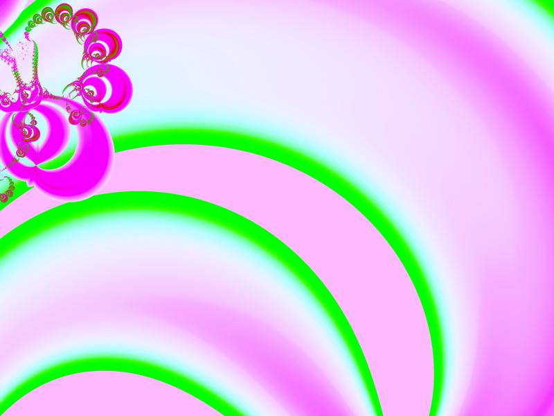 Fractal Art Wallpaper, Pretty In Pink 2