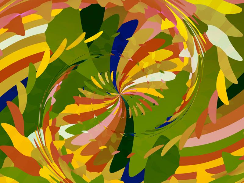 Fractal Art Wallpaper, Seasons