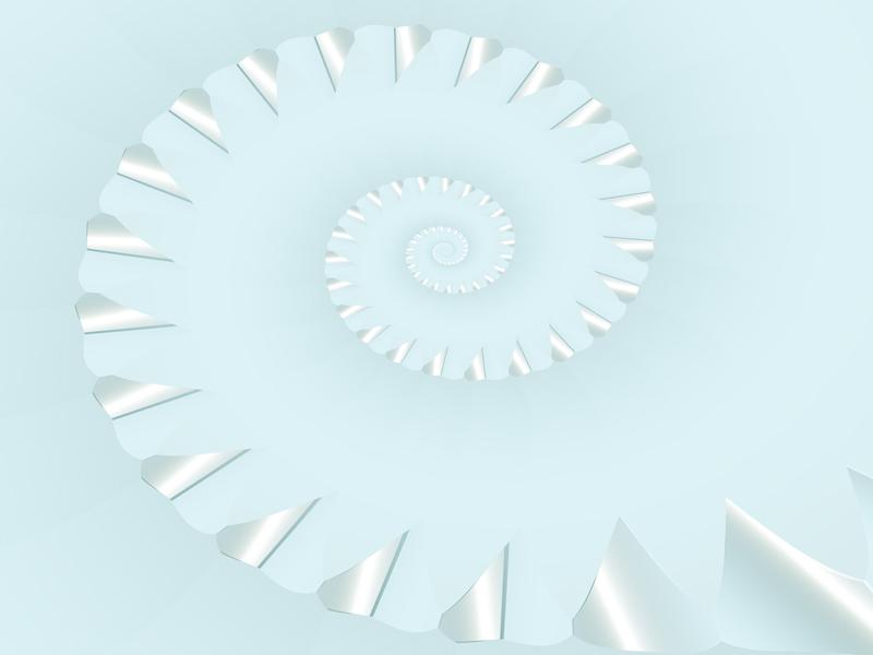 Fractal Art Wallpaper, Sharp Points 2