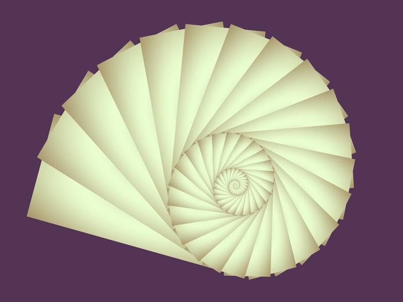 Fractal Art Wallpaper, Snail 3