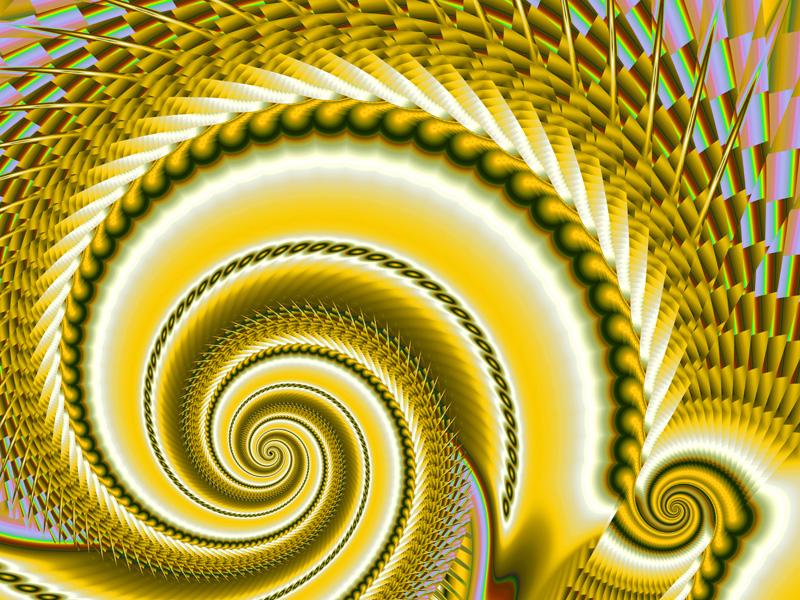 Fractal Art Wallpaper, Spiral 7