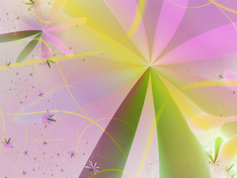 Fractal Art Wallpaper, Summertime