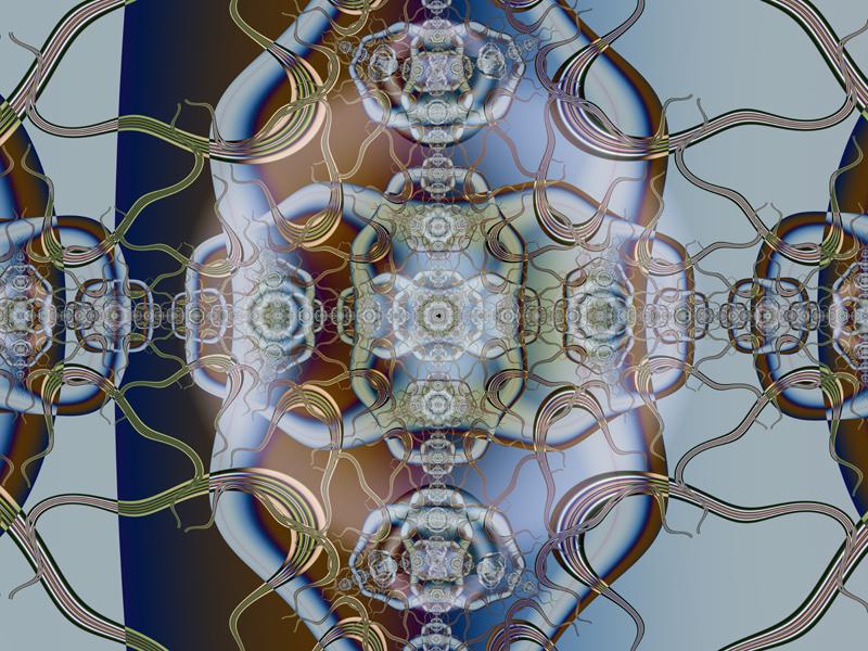 Fractal Art Wallpaper, Talisman 3