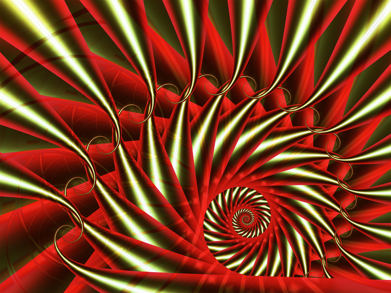 Fractal Art Wallpaper, Thanksgiving 2