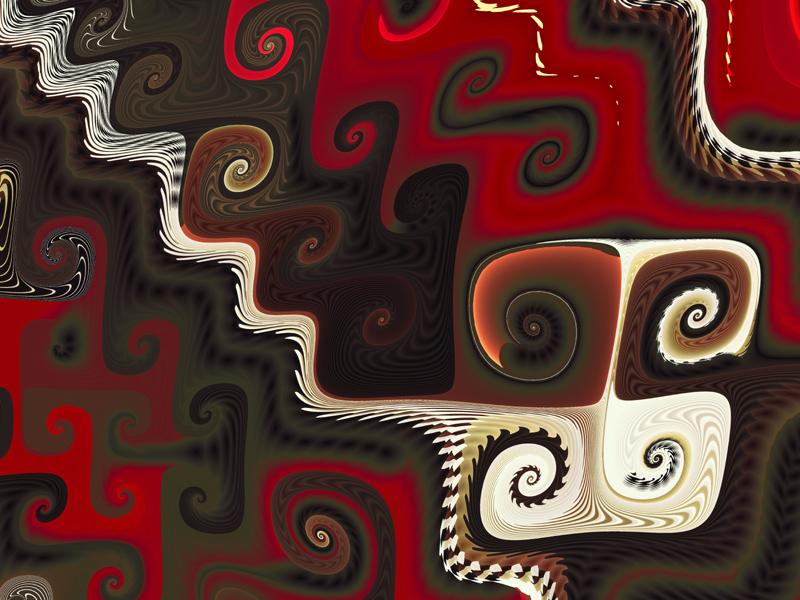 Fractal Art Wallpaper, Whimsy