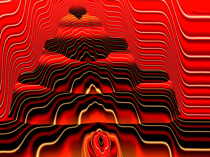 red and black wallpaper. Fractal Art Wallpaper, Altar