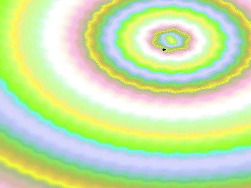 Fractal Art Wallpaper, Big Bang