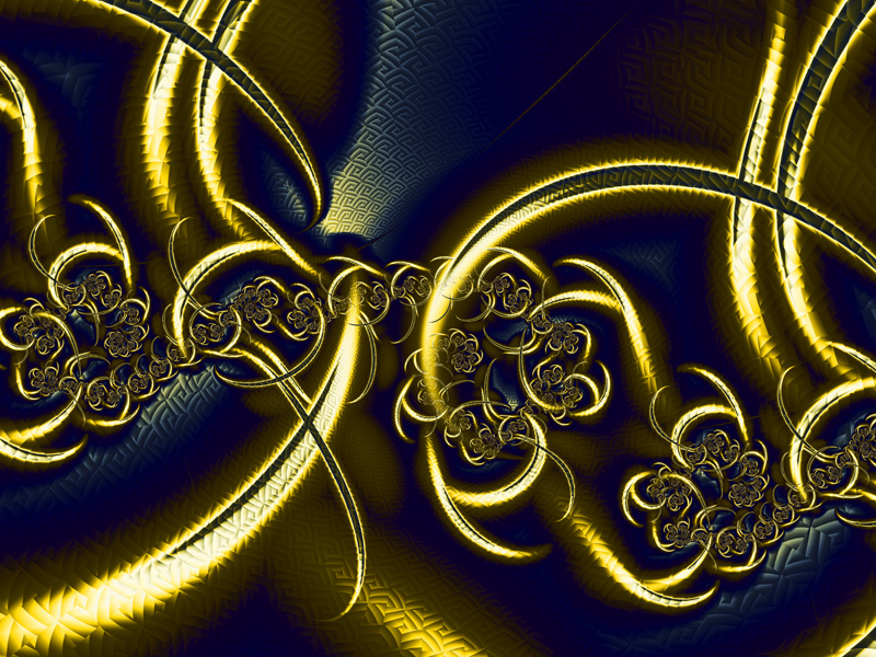 wallpaper background black. Text color: gold or lack