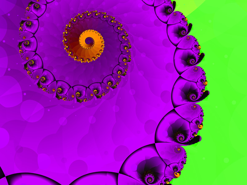 Fractal Art Wallpaper, Brave Heart