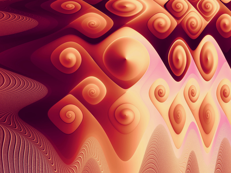 Fractal Art Wallpaper, Breast Armor