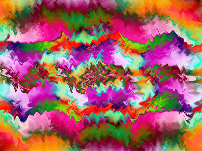 Fractal Art Wallpaper, Bright Gnarl