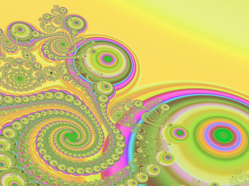Fractal Art Wallpaper, Candy Land