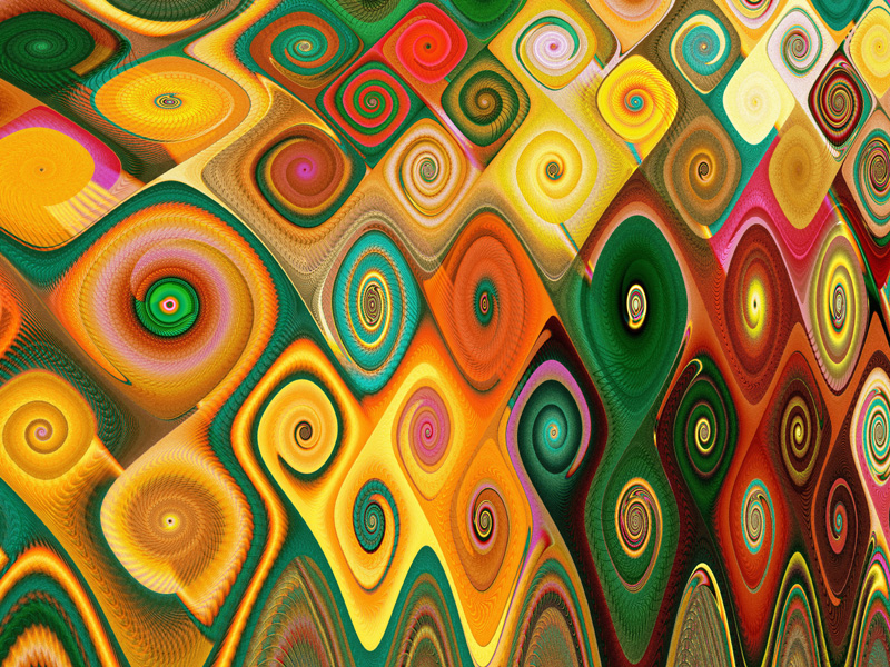 Fractal Art Wallpaper, Cascade 5