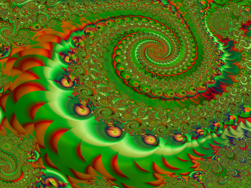 Fractal Art Wallpaper, Celebration 2 Wallpaper