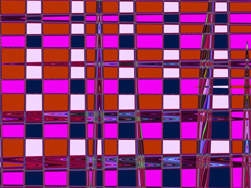 Fractal Art Wallpaper, Checkmate 2