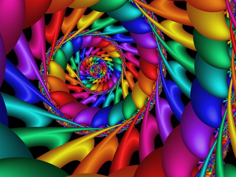 Fractal Art Wallpaper, Color 11