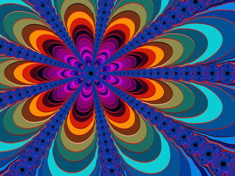 Fractal Art Wallpaper, Color 16 Wallpaper