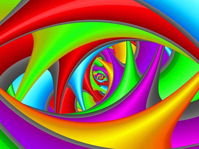 Fractal Art Wallpaper, Color 17 Wallpaper