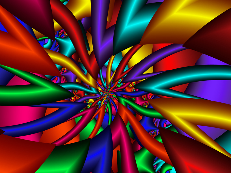 Fractal Art Wallpaper, Color 20