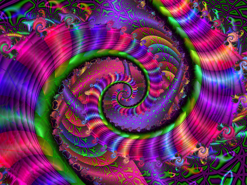 Fractal Art Wallpaper, Color 4 Wallpaper