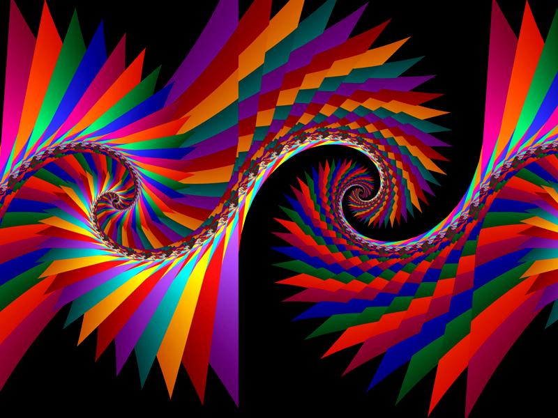 Fractal Art Wallpaper, Color 5 Wallpaper