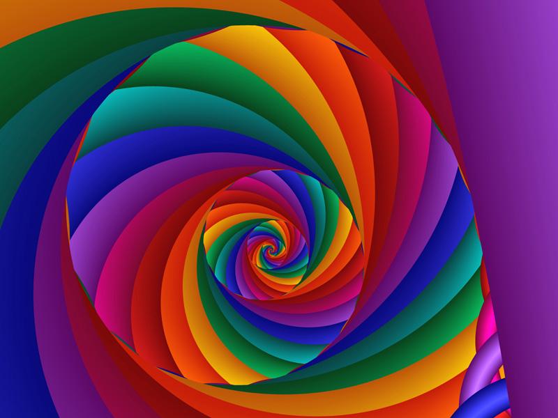 Fractal Art Wallpaper, Color 6 Wallpaper
