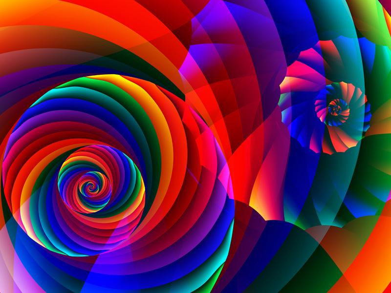 Fractal Art Wallpaper, Color 7 Wallpaper