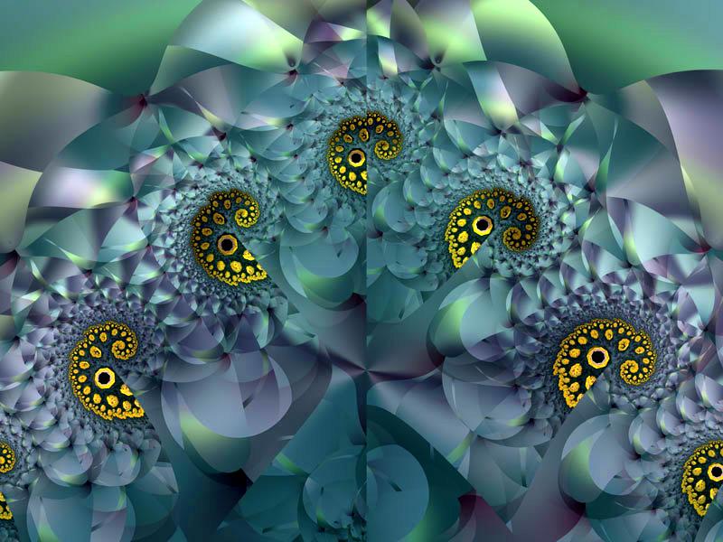 Fractal Art Wallpaper, Coral