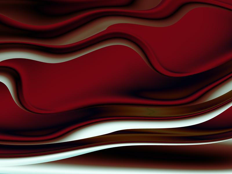 Fractal Art Wallpaper, Cream Pie