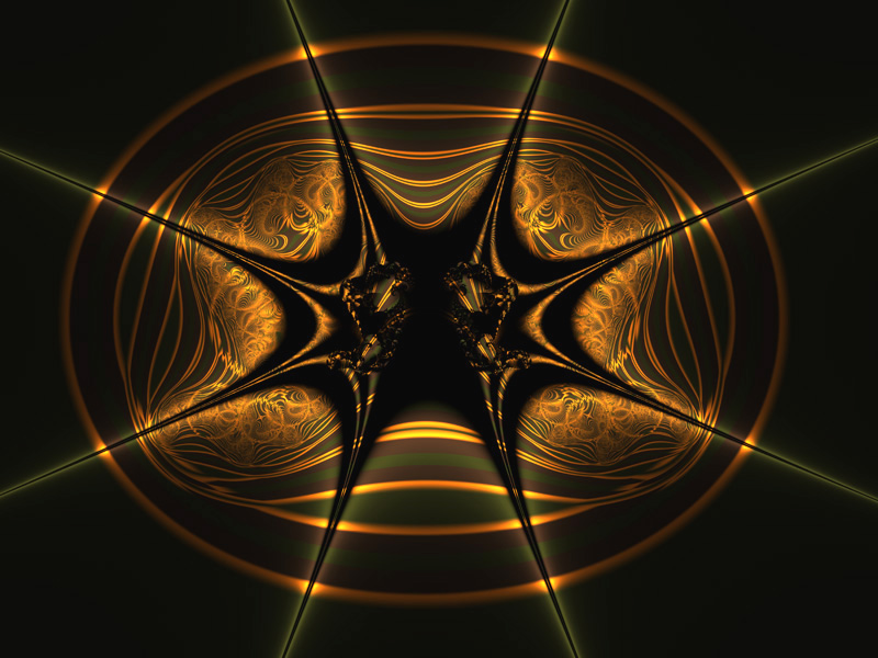Fractal Art Wallpaper, Dark Side