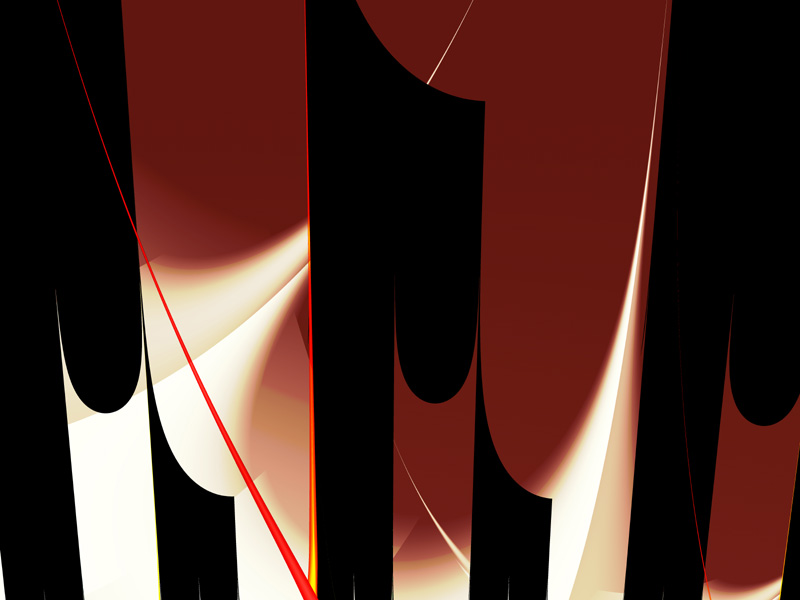Fractal Art Wallpaper, Darkness