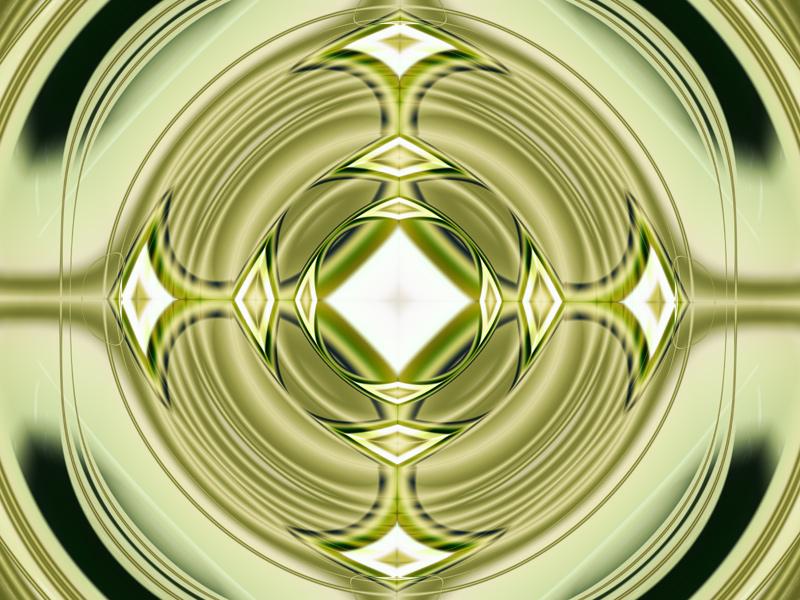 Fractal Art Wallpaper, Diamond