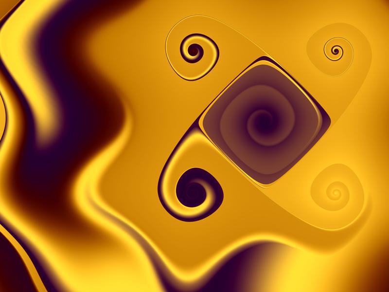 Fractal Art Wallpaper, Electric Fields Wallpaper