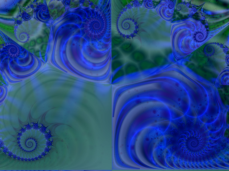 Fractal Art Wallpaper, Electricity